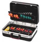 SILVER Plus Werkzeugkoffer mit 25 Liter Volumen und 40 Einsteckfächern