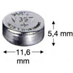 V357 (1,55V) Batterie